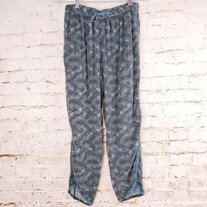 Anthropologie Hei Hei Lounge Tapered Blue Pants M